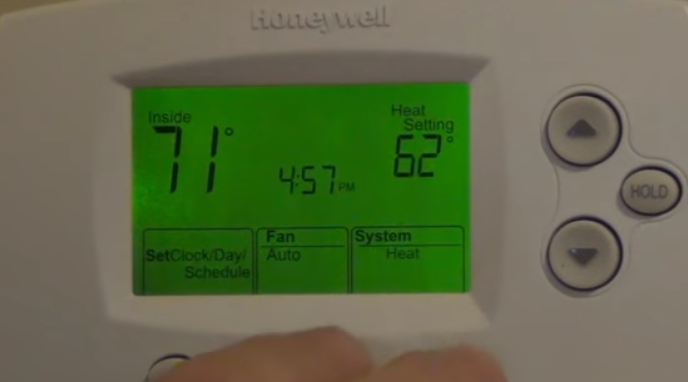 Improve energy efficiency with the right thermostat for home set heating or coolingg fandeluxe Image collections